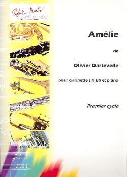 Amélie Olivier Dartevelle Partition Clarinette - laflutedepan