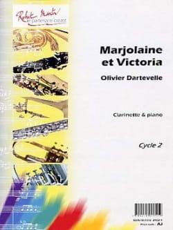 Marjolaine et Victoria Olivier Dartevelle Partition laflutedepan