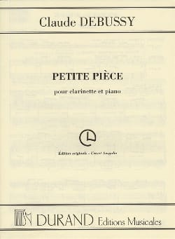 DEBUSSY - Little piece - Sheet Music - di-arezzo.co.uk