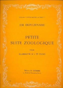 Jean-Marie Depelsenaire - Petite suite zoologique - Partition - di-arezzo.fr