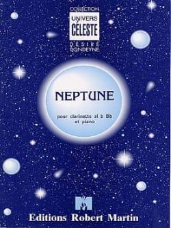 Neptune Désiré Dondeyne Partition Clarinette - laflutedepan