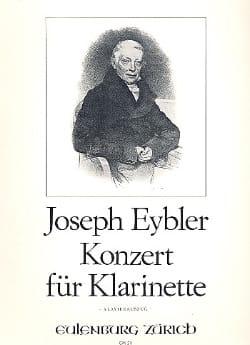 Konzert für Klarinette - Joseph Eybler - Partition - laflutedepan.com
