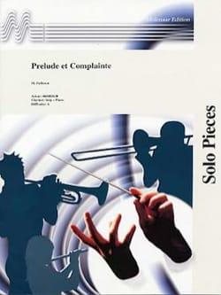 Prélude et Complainte - Maurice Faillenot - laflutedepan.com