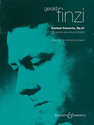 Gerald Finzi - Clarinet Concerto op. 31 - Partition - di-arezzo.fr