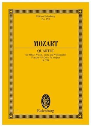Quartett F-Dur (KV 370) F-Dur - MOZART - Partition - laflutedepan.com