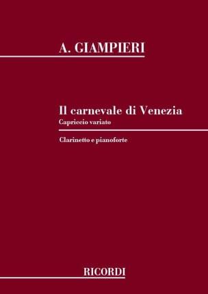 Alamiro Giampieri - Il Carnavale di Venezia - Partition - di-arezzo.fr