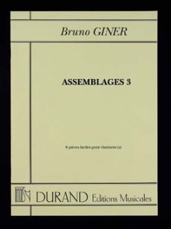 Bruno Giner - Assemblee 3 - Partitura - di-arezzo.it