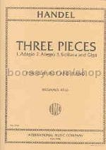HAENDEL - 3 Pieces - transcr. clarinet - Sheet Music - di-arezzo.com