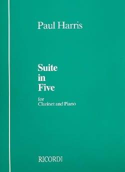 Suite in five Paul Harris Partition Clarinette - laflutedepan