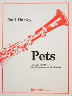 Paul Harvey - Pets - Sheet Music - di-arezzo.com