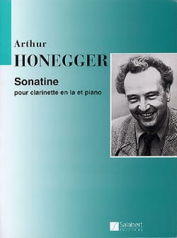 Arthur Honegger - Sonatine for clarinet - Sheet Music - di-arezzo.co.uk