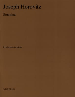 Joseph Horovitz - Sonatina - Piano Clarinet - Sheet Music - di-arezzo.co.uk