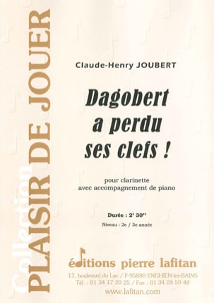 Claude-Henry Joubert - Dagobertが鍵を失った - 楽譜 - di-arezzo.jp