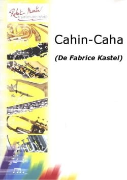 Cahin-Caha Fabrice Kastel Partition Clarinette - laflutedepan