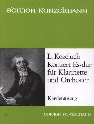 Léopold Kozeluch - Konzert Es-Dur - Klarinette Klavier - Sheet Music - di-arezzo.com