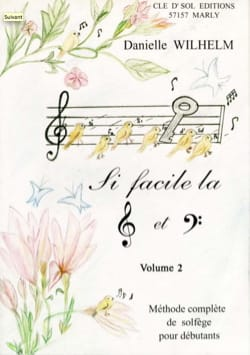 Danielle Wilhelm - So Easy the Key of Ground and Fa Volume 2 - Sheet Music - di-arezzo.co.uk