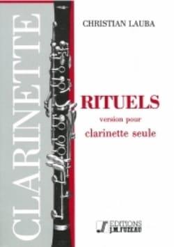 Christian Lauba - Rituels - Partition - di-arezzo.fr