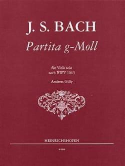 Partita G Moll nach BWV 1013 - Viola - BACH - laflutedepan.com