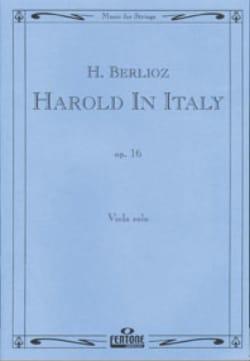 BERLIOZ - Harold In Italy Op. 16 - Sheet Music - di-arezzo.co.uk