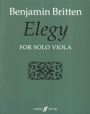 Benjamin Britten - Elegy - Sheet Music - di-arezzo.com