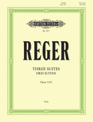 Max Reger - 3 Suites op. 131d - Sheet Music - di-arezzo.co.uk