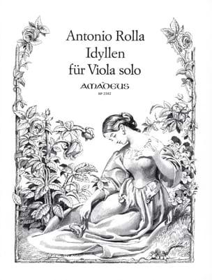 Giuseppe Antonio Rolla - Idyllen - アルトオンリー - 楽譜 - di-arezzo.jp