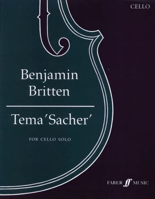 Benjamin Britten - Tema 'Sacher' - Sheet Music - di-arezzo.co.uk