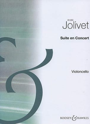 André Jolivet - Suite in Concert - Cello Solo - Sheet Music - di-arezzo.com