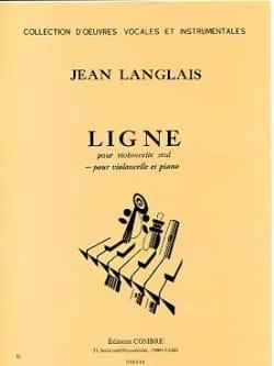 Ligne Jean Langlais Partition Violoncelle - laflutedepan