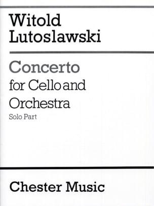 Witold Lutoslawski - Concerto for cello and orchestra - Solo - Sheet Music - di-arezzo.com