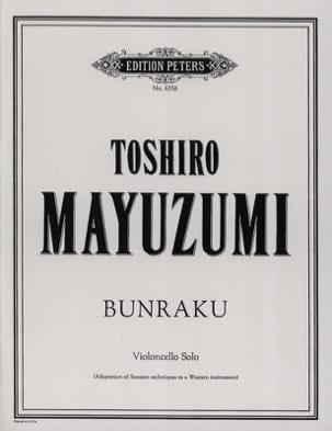 Toshiro Mayuzumi - Bunraku - Partition - di-arezzo.fr