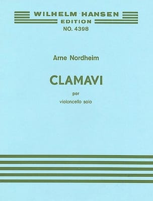 Arne Nordheim - Clamavi - Partition - di-arezzo.fr