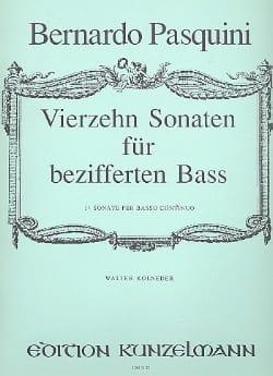 Bernardo Pasquini - 14 Sonaten für bezifferten Bass - Partition - di-arezzo.fr