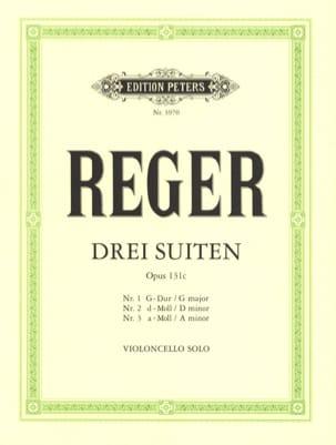 Max Reger - 3 Suites op. 131c - Sheet Music - di-arezzo.co.uk