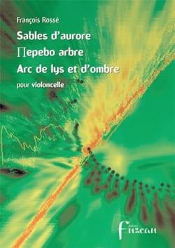 François Rossé - Sables d'aurore - Partition - di-arezzo.fr