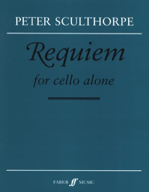 Requiem - Violoncelle Seul Peter Sculthorpe Partition laflutedepan