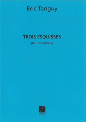 Eric Tanguy - 3 Esquisses - Partition - di-arezzo.fr