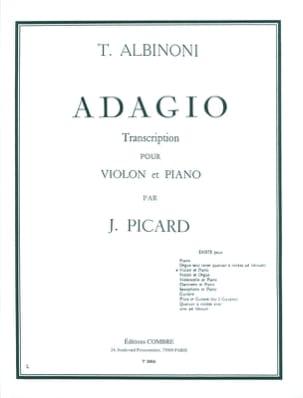 Tomaso Albinoni - Adagio – Violon - Partition - di-arezzo.fr