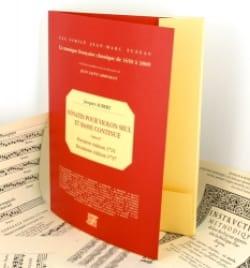 Sonates pour violon seul et basse continue op. 2 - laflutedepan.com