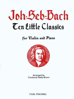 10 little classics - BACH - Partition - Violon - laflutedepan.com