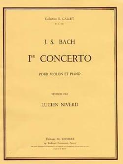 BACH - Concierto para violín No. 1 A menor BWV 1041 - Partitura - di-arezzo.es