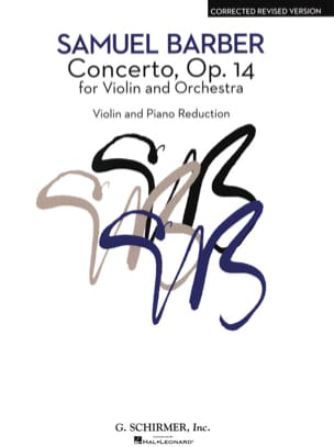 Samuel Barber - Violin Concerto Op. 14 - Sheet Music - di-arezzo.co.uk