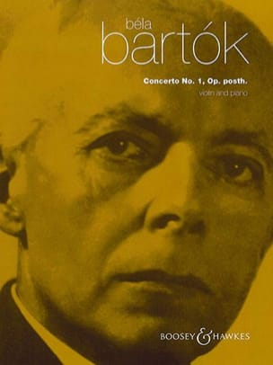 BARTOK - Violin Concerto No. 1 - Violin and Piano - Sheet Music - di-arezzo.com