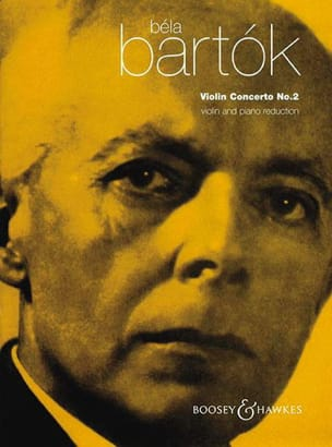 BARTOK - Concerto pour violon n° 2 - Partition - di-arezzo.fr