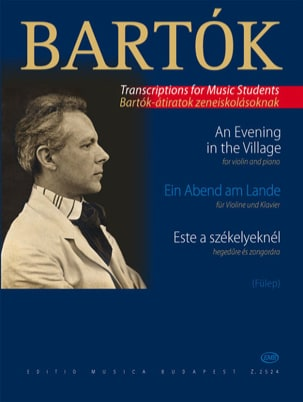 Ein Abend am Lande – Violine - Béla Bartok - laflutedepan.com
