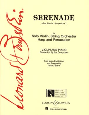 Serenade - Leonard Bernstein - Partition - Violon - laflutedepan.com