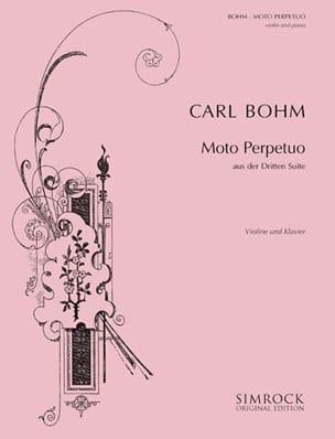 Carl Böhm - Moto perpetuo - Sheet Music - di-arezzo.com