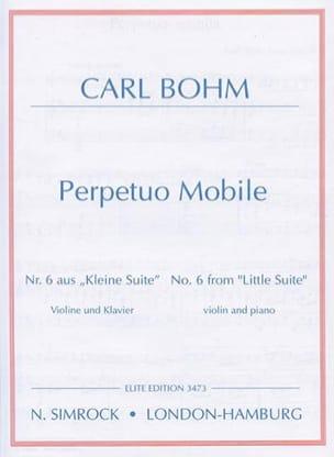 Carl Bohm - Perpetuo Mobile - Sheet Music - di-arezzo.com