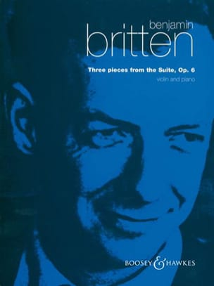 Benjamin Britten - 3 Pieces from the Suite op. 6 - Partition - di-arezzo.fr
