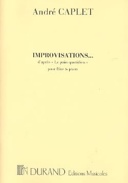 André Caplet - improvisations - Sheet Music - di-arezzo.co.uk